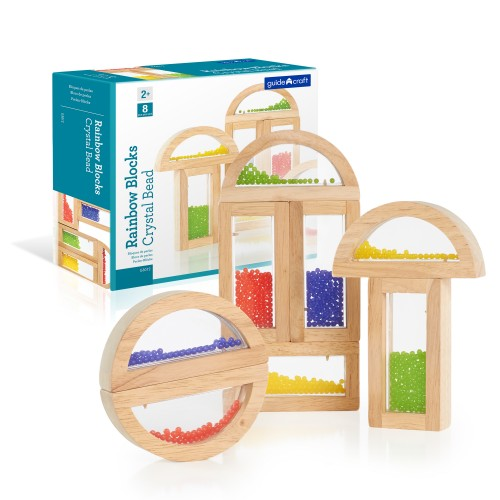 Block Play Rainbow Blocks - Crystal Bead