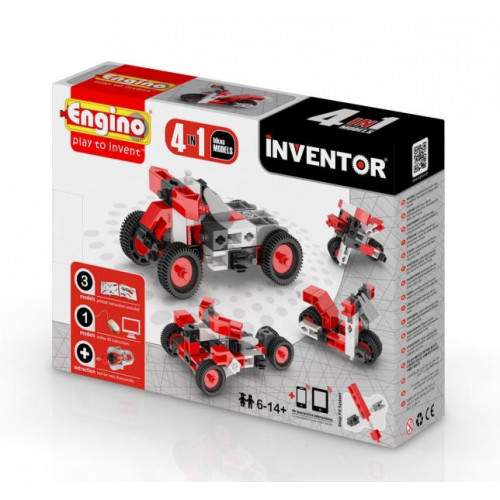 Engino Inventor 4in1 motorok