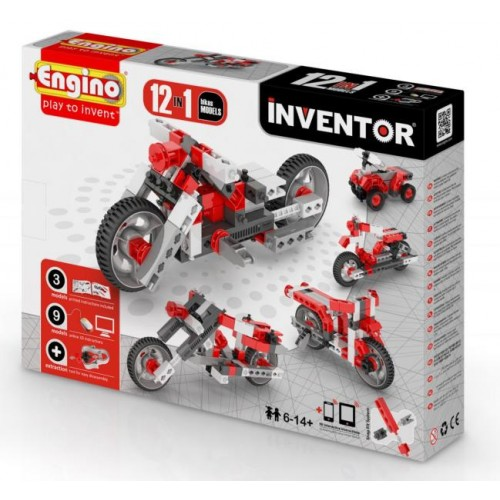 Engino Inventor 12in1 motorok