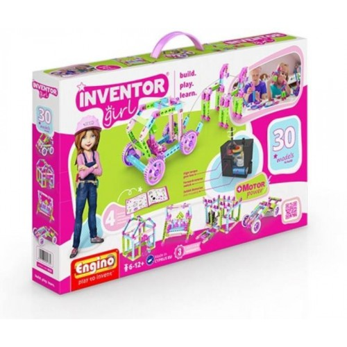 Engino Inventor Girl 30in1 modellek